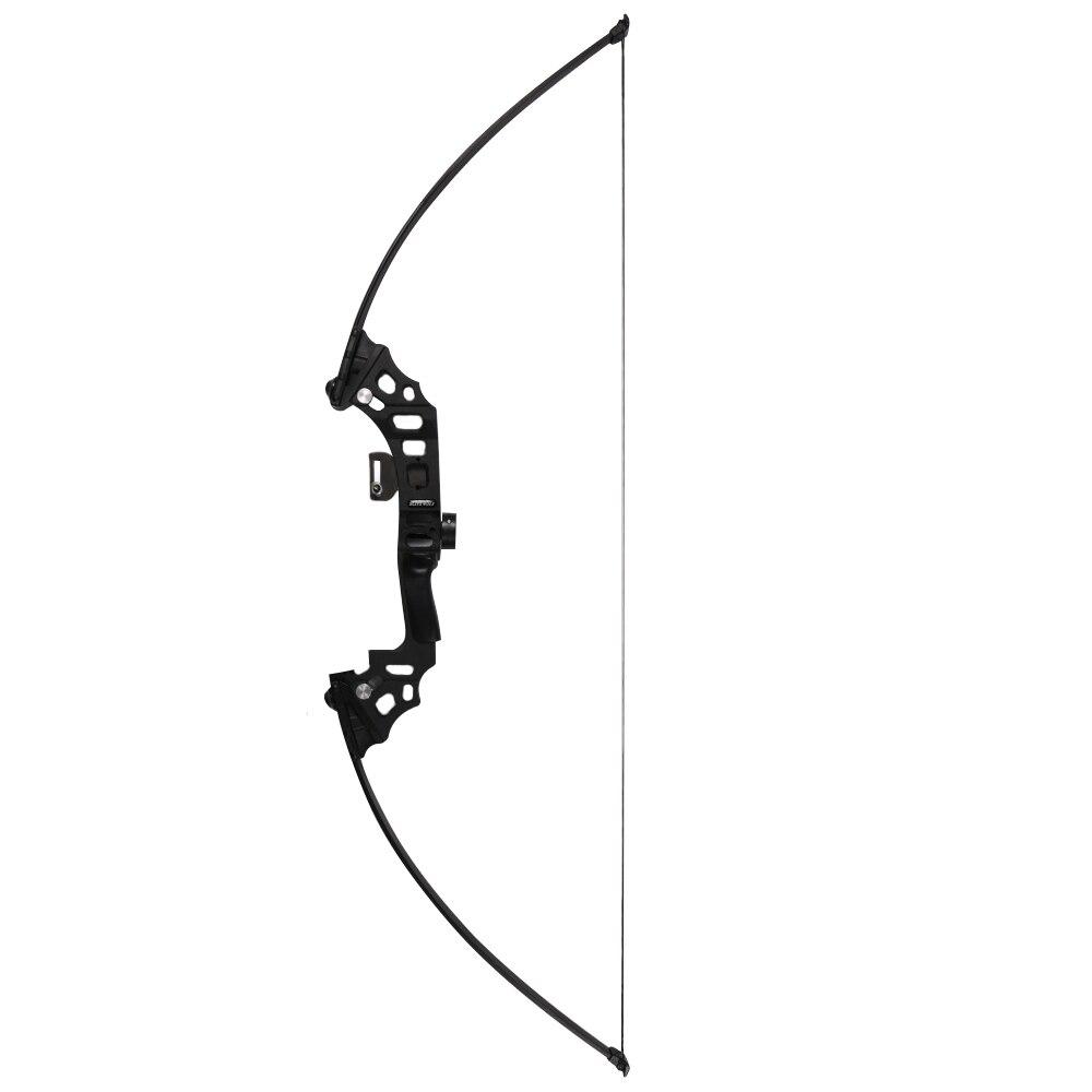 40lbs arc de pêche en aluminium recurve arc long arc droit pour démarreur - 2
