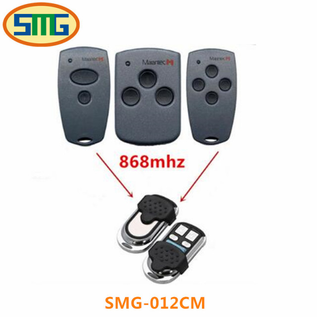 3X Martin/Marantec Garage Door Opener Remote Control Transmitter 868 MHz  Clone 4 Button Garage
