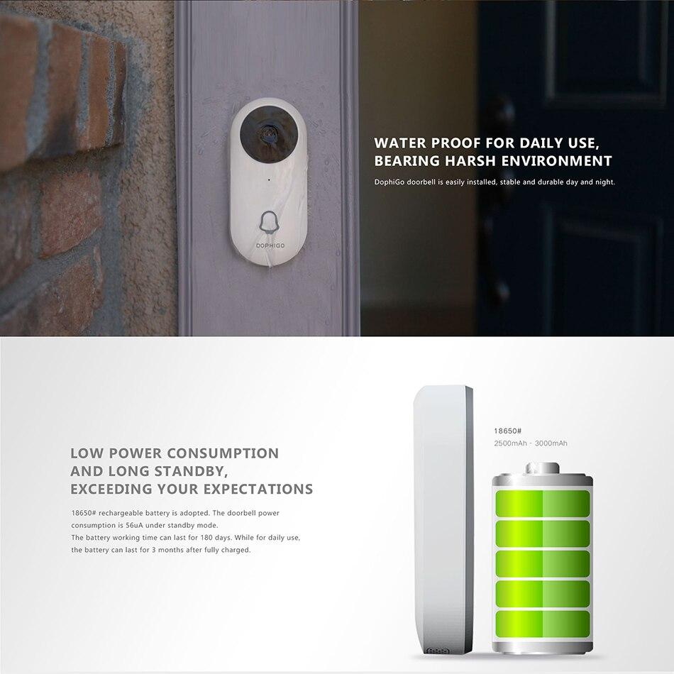 Bluetooth Wifi Wireless Video Doorbell 5