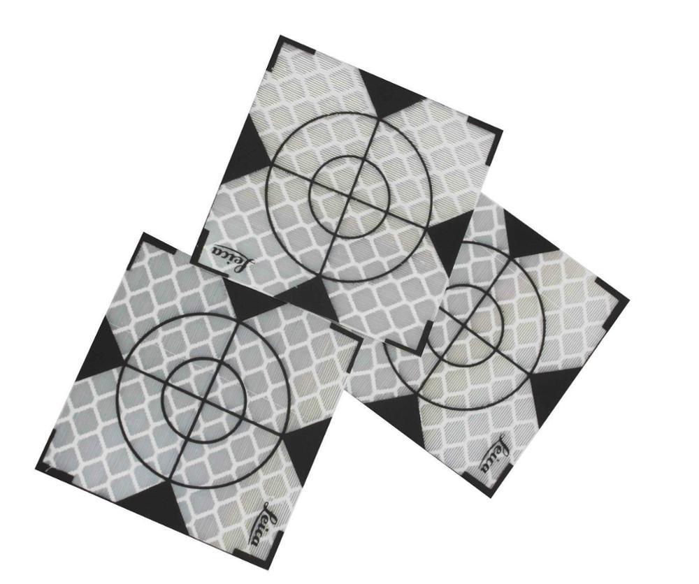 500pcs Reflexionsfolie 20x20mm Reflexfolie Ziel TOTAL STATION 100 20x20mm p06707