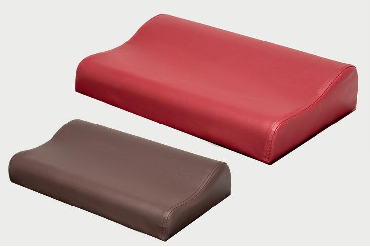 contour durable massage bolster pillow in various colors for massage table bed black beige purple wine red navy brown headrest