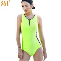 361 Sports Women Swimsuit Chlorine One Pieces Swimwear Pool Beach Slim Backless Female Swim Suit Swimming Suit for Girls Bather