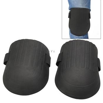 1 para elastyczny miękki piankowy Kneepads ochronny Sport praca ogrodnictwo Builder najnowszy tanie i dobre opinie Knee Protector Pads Black One Pair