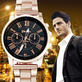 Perfect Gift Luxury Stylish Fashion Roman Number Stainless Steel Quartz Sports Dial Wrist Watch Levert Dropship May26