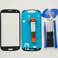Front Outer Glass Lens for Samsung Galaxy S3 III i9300 Top LCD Touch screen replacement & UV glue & tools & adhesive