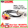 New Upgrade 1 4 800TVL CMOS 3 6mm Lens Door Eye Hole Install Color Mini