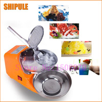 Hot SHIPULE 2018 new technology high efficient commercial ice crusher/crushed ice machine multifunctional ice shaving machine