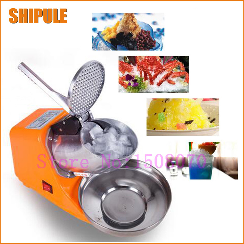 Hot SHIPULE 2018 new technology high efficient commercial ice crusher/crushed ice machine multifunctional ice shaving machine hand driven ice crusher commercial and home use crushed ice machine zf
