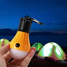Ourpgone 4 Color New arrive 3 LED light Outdoor Hanging LED Camping Tent Light Bulb Fishing Lantern Lamp Wholesale
