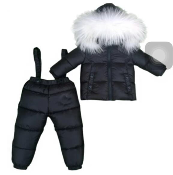 2017 winter jacket coat ladies down jackets and trousers, girl child in common fur coats hooded duck costume design all child t 100% white duck down women coat fashion solid hooded fox fur detachable collar winter coats elegant long down coats