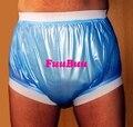 Free transporte fuubuu2207-blue-xxl-1pcs largas calças elásticas/o velho homem de fraldas/calções à prova d' água/produtos para incontinência