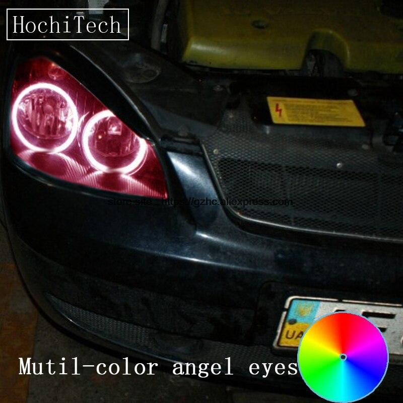 HochiTech Per VAZ Lada Priora 2170 2171 2172 stile auto RGB LED Demone Angel Eyes Kit Halo Anello Day Light DRL a distanza controllo
