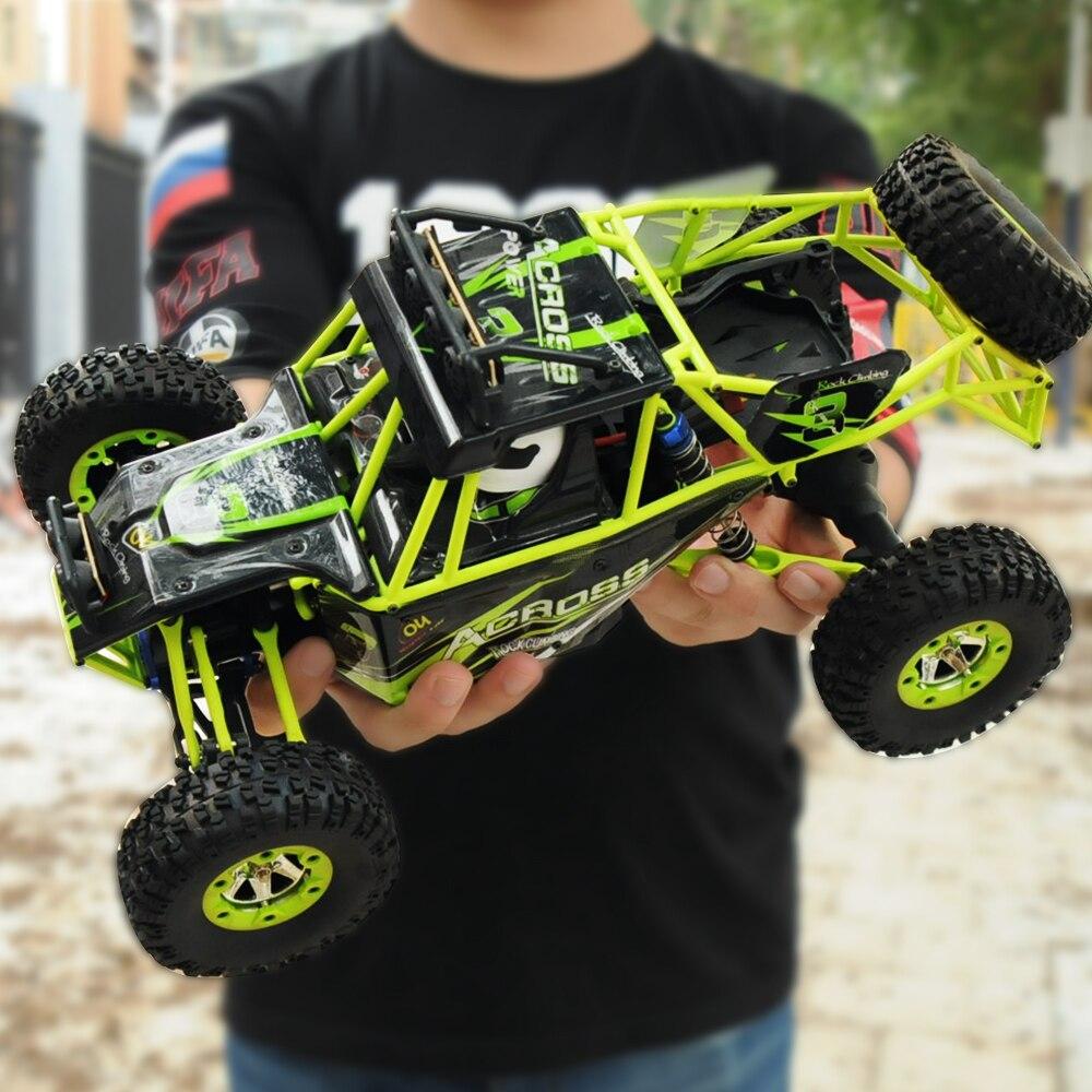 Wltoys 12428 Rc Auto 1:12 2,4g 50 km/std 4WD Hohe Geschwindigkeit Fernbedienung Auto Lkw Radio Gesteuert Maschine + WL 1500 mah Batterie