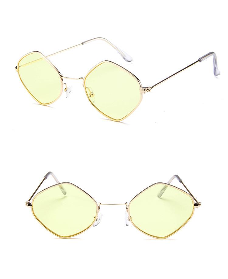 HTB1pnXnSpXXXXcCXVXXq6xXFXXXp - Rhombus Metal Framed Sunglasses Retro Small Size Lens PTC 223
