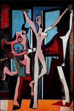 abstract poster home picture wall decoration posters canvas painting Print Poster masterpiece reproduction La dance by Picasso