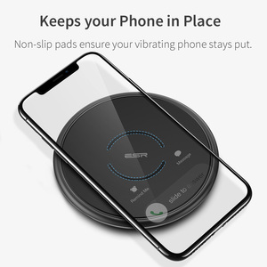 Image 3 - ESR Fast Qi Wireless Charger 7.5WสำหรับiPhone 11 Pro XS MAX XR X 8 10W Fast CHARGINGสำหรับSamsung Galaxyหมายเหตุ 20 S10 S9 PLUS