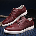 2016 Fashion man Bullock shoes business  genuine leather loafers  joker casual shoes  Men's footwear shoes  oxford