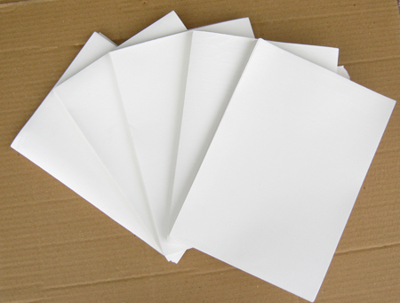 Free Shipping!! Blank Water Transfer Printing Film For Inkjet Printer Pigment Ink A4 Size 10pcs/bag
