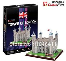 Tower of London CubicFun 3D educational puzzle Paper & EPS Model Papercraft Home Adornment for christmas gift