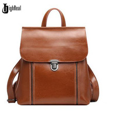 Highreal Японии и корейский стиль натуральная кожа женщины рюкзак старинные школьный рюкзак для девочек Брендовая Дизайнерская обувь сумки лучший подарок