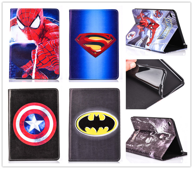 Case Cover For iPad mini 4 Cover With Card Holder +film
