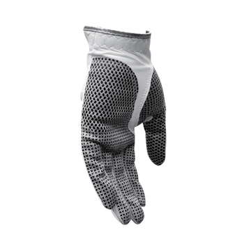 Kid Leather Gloves   Free Shipping, White PGM Lambskin Genuine Leather Golf  Gloves Breathable And Anti-slipping Particles, Golf Gloves Leather Men