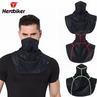 Motorcycle mask breathable warm fleece mask winter ski windproof mask shawl bicycle riding scarf scarf
