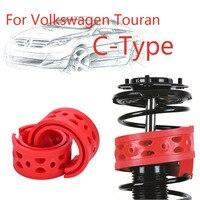 1pair Front Shock SEBS Size-C Bumper Power Cushion Absorber Spring Buffer For Volkswagen Touran