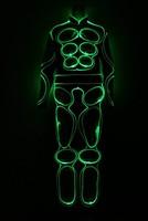 party supply LED Costumes / light robot suit / EL Wire / Neon/ luminous clothing / Light suits