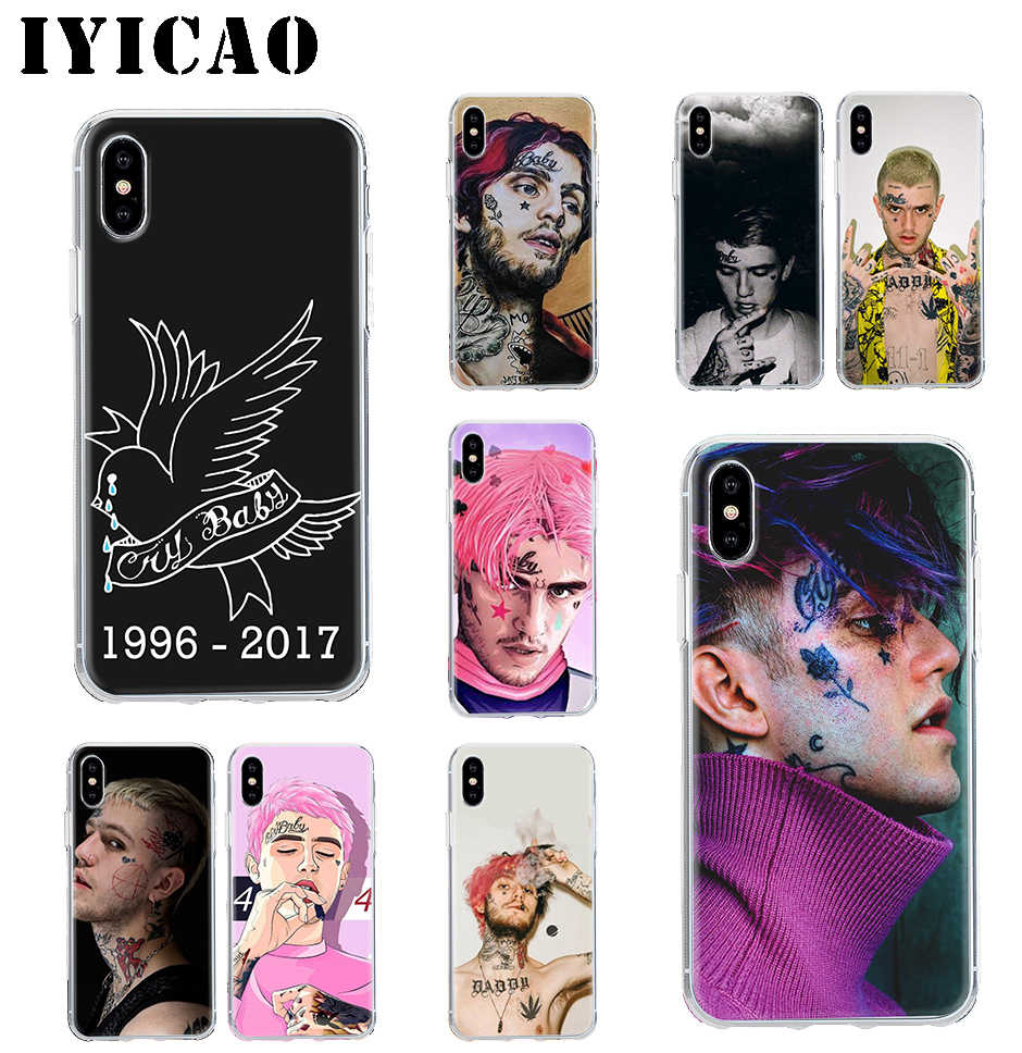 Lil IYICAO Peep Hard Case Shell Capa para iPhone 4 4S 5 5S Se 6 7 7plus 8 8 mais X XS MAX XR 6s Plus 11 pro max