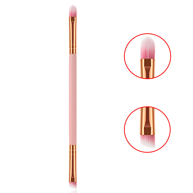 BBL Brush-Tools Concealer Eyeliner Eyebrow-Brush Wooden-Handle Slanted Double-Eye-Shadow title=