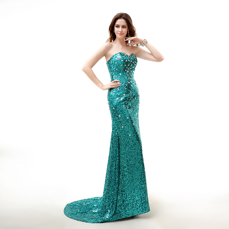 be9de6605a1 ộ ộ ༽Forevergracedress Реальный образец вечернее платье Русалка ...