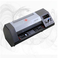 LM230+ hot/cold laminator 400w lamination machine a4 Max Width 230mm laminator coating photo laminating machine 1PC