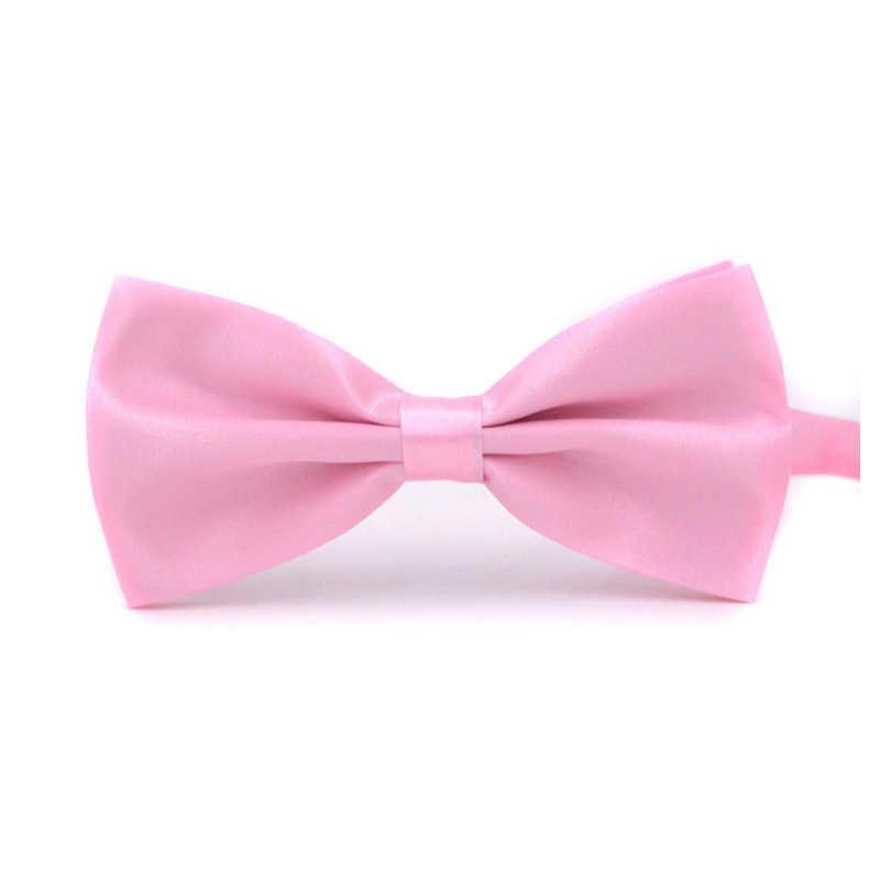 Moda venda 1 pc cavalheiro masculino clássico cetim gravata borboleta para festa de casamento ajustável laço nó roupas & acessórios