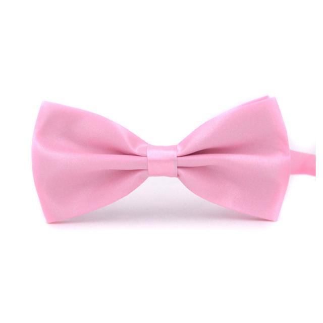 fashion Sale 1PC Gentleman Men Classic Satin Bowtie Necktie For Wedding Party Adjustable Bow tie knot Clothing & Accessories