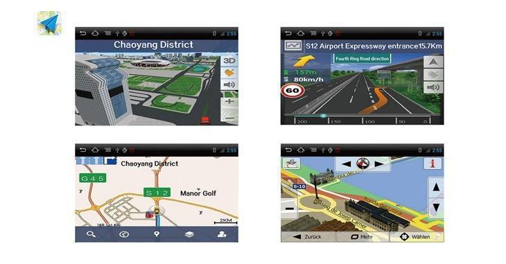 Car dvd GPS Navigation player 1