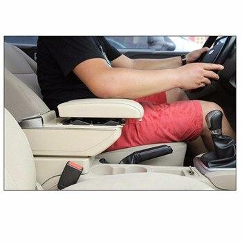Boîte D'accoudoir Pour Ford Focus 2 Mk2 2009-2011 Console Centrale Bras Magasin Contenu Boîte Support De Verre Cendrier Avec Fonction Montée Et Descente