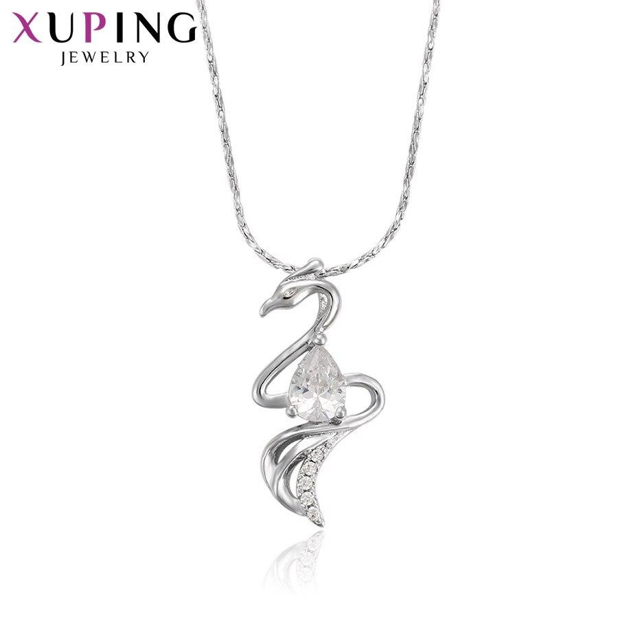 11,11 сделок Xuping Мода серпантин Кулон Родий Цвет покрытием украшения для Для женщин подарок на день матери M35-30076