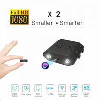IR Cut Secret Camera Full HD 1080P Mini Camera Night Vision Small Cam Motion Detection Mini Video Camcorder Support Hidden Card