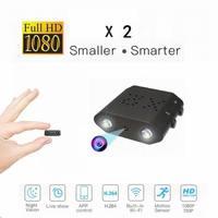 IR Cut Secret Camera Full HD 1080P Mini Camera Night Vision Small Cam Motion Detection Mini Video Camcorder Support Hidden Card