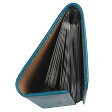 20 Slots Genuine Leather Credit Card Holder