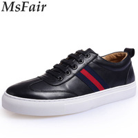 MSFAIR 2017 New Men Skateboarding Shoes Outdoor Athletic Walking Shoes Sport Shoes For Men Canvas Shoes