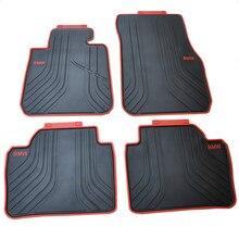 Специальные резиновые автомобильные коврики водонепроницаемые анти ковры для скольжения для 2012- лет BMW 3 серии F35 F30 320i 328i 318