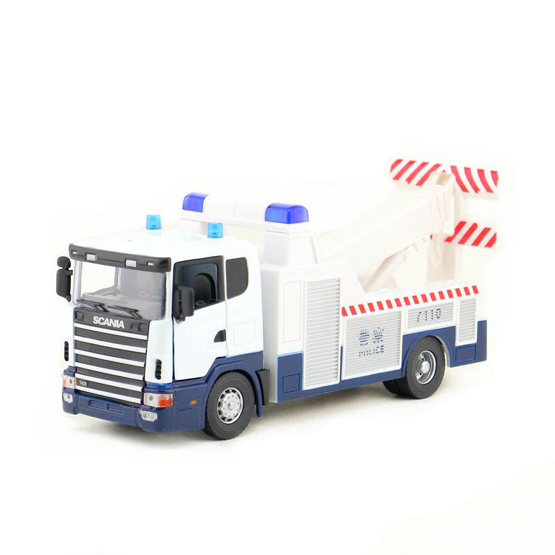 JOYCITY/1:43 Scale/Diecast Model/SCANIA Road Protection Truck Toy/Educational Collection/Gift For Children/Engineering Car