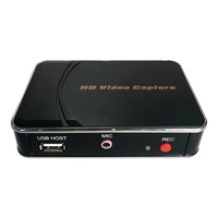 280HB HDMI Video Capture Can Decode HDMI Recording Box MIC Input For PS3 PS4 XBOX Blu ray And Other Recording Partners