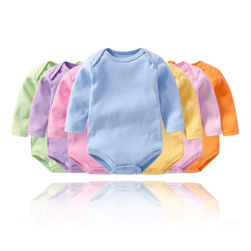 Baby Girl Bodysuits Long Sleeve Baby Bodysuit For Newborns Cotton Body Boy Twins Clothes Baby Onesie 24 Months Girls Clothes
