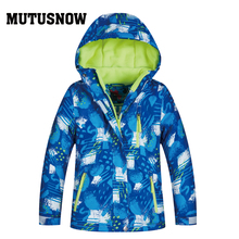 Boys Snowboard Jacket Skiing Winter Waterproof Children Mountaineering Jacket Outdoor Girls Ski Suit Kids Snow Jackets Cothes