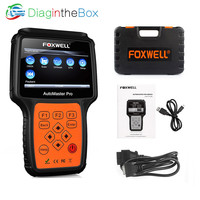 FOXWELL NT624 PRO Automotive Scanner Auto OBD2 ABS Airbag Diagnostic Tool All System SRS Crash Data Oil Reset OBD 2 Car Scan