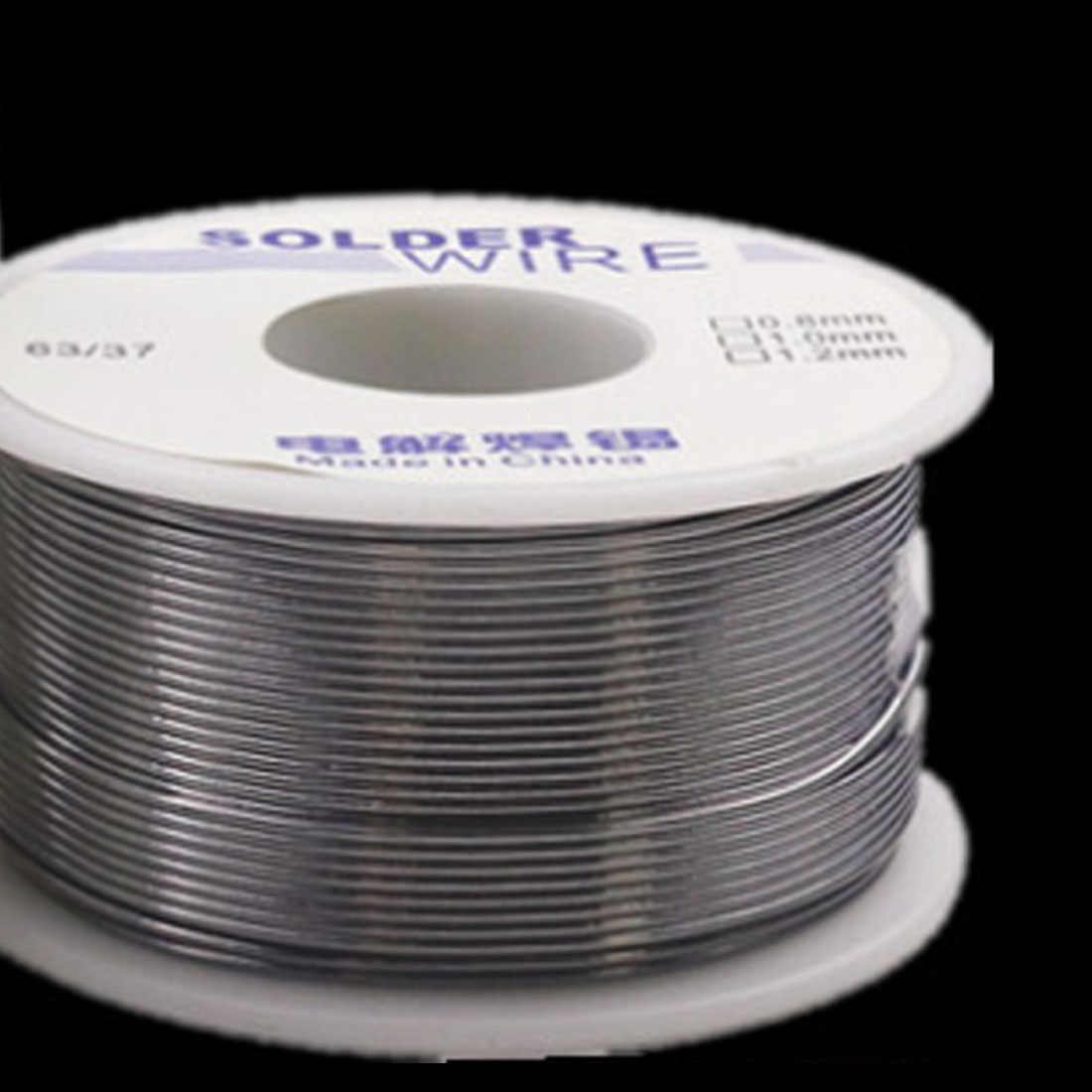 Fio De Solda 63/37 50 Industrial g 1.0mm/0.8mm 2.0-2.3% Estanho Chumbo Rosin Flux Core Weldring