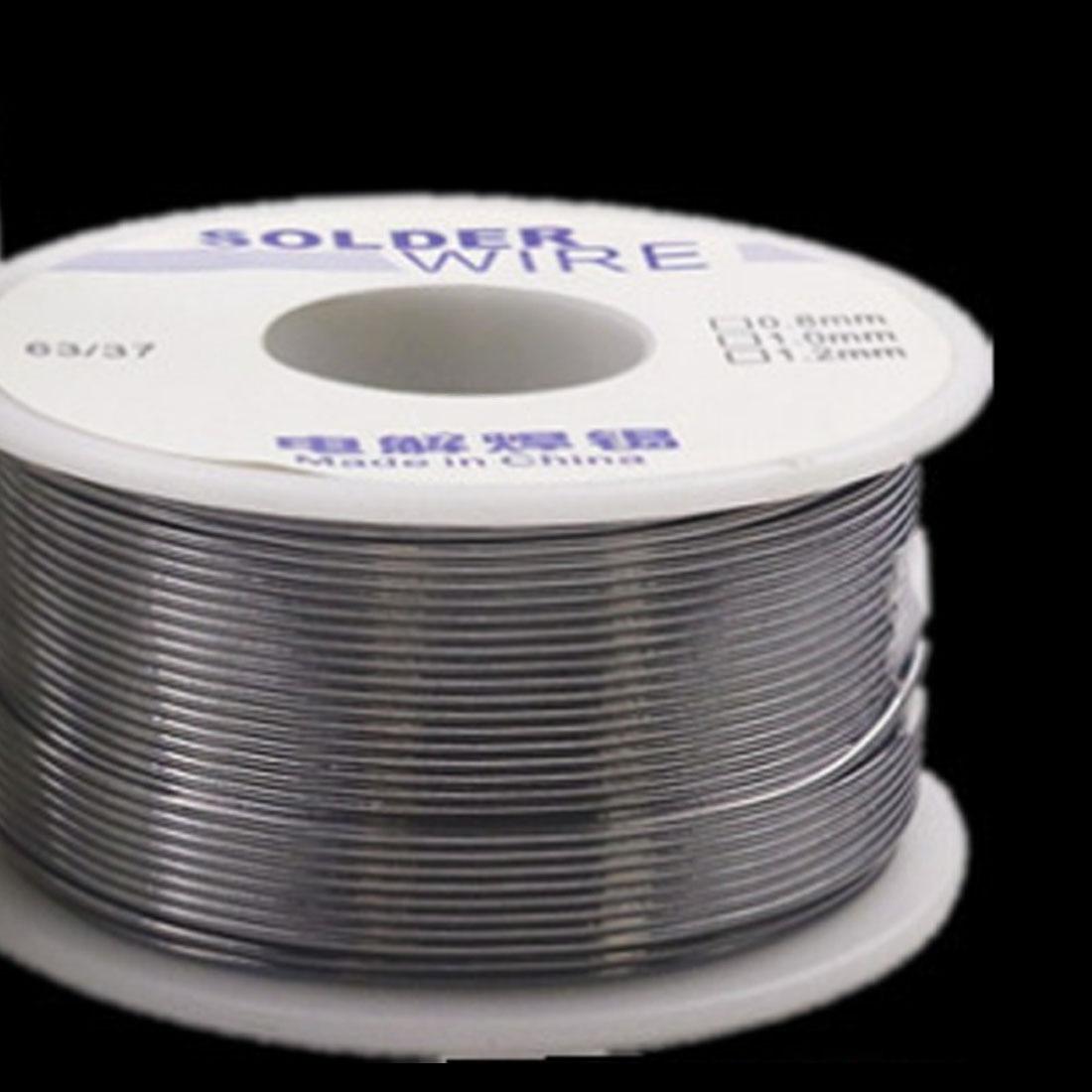 Schweißdrähte Temperamentvoll 63/37 50g 1,0mm/0,8mm 2,0-2.3% Flussmittel Kolophonium Kern Weldring Zinn Blei Industrielle Lötdraht Schweißen & Löten Supplies
